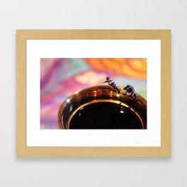 After Dinner Dip Framed Art Print