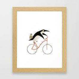 Reason SIX for using bike: Framed Art Print