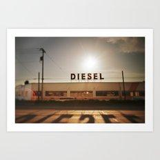 Diesel Art Print
