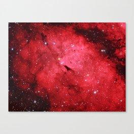Emission Nebula Canvas Print