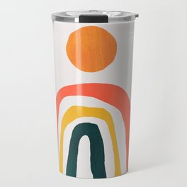 Sunrise over rainbow hill Travel Mug