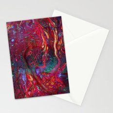 Marbled Galaxy Stationery Cards