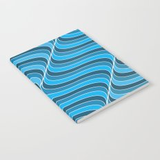 Blue Waves Notebook