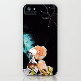 Geeting Spooky iPhone Case