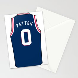 Justin Patton Jersey Stationery Cards