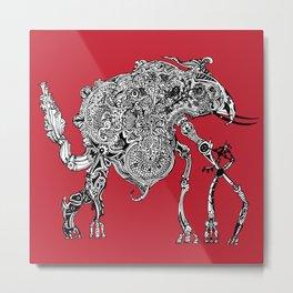 Olipwaddle Metal Print