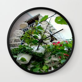 Caged Wall Clock