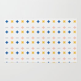 Math Symbols 2 Rug