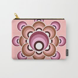 70's flower - Fall palette Carry-All Pouch