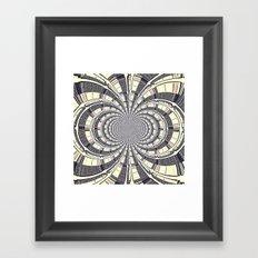 KALEIDOSCOPIQUE Framed Art Print