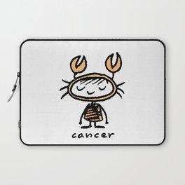 crabby cancer cutie pie Laptop Sleeve