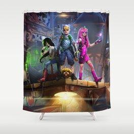 Adventurers Shower Curtain