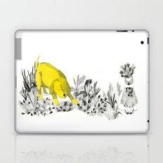 yellow dog Laptop & iPad Skin