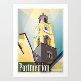 Portmeirion Art Print