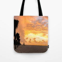 Colors Bursting Through The Morning Tote Bag