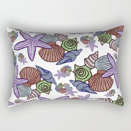 She Sells Seashells Rectangular Pillow