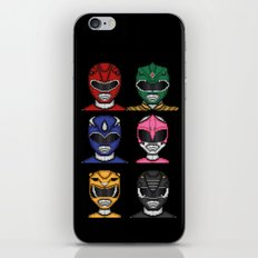 It's Morphin' Time! iPhone & iPod Skin