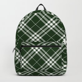 Holiday Plaid 7 Backpack