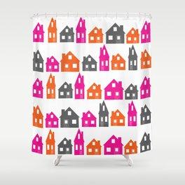 Little Village Shower Curtain
