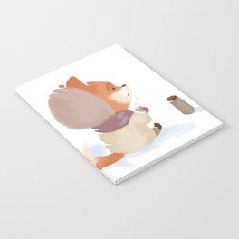 Winter Fox Drink Notebook