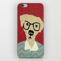 labrador iPhone & iPod Skins featuring Labrador  by Colorfly Studio