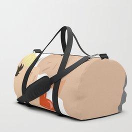 Kissing couple Duffle Bag