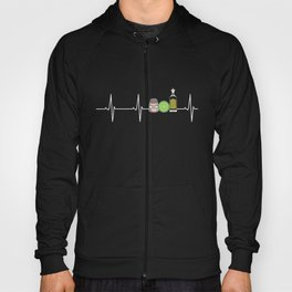 Tequila Lime And Salt Heartbeat Funny Cinco Hoody