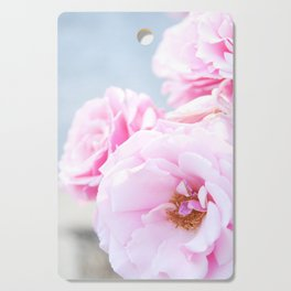 Blushing Roses Cutting Board