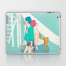男なんてシャボン玉 Laptop & iPad Skin