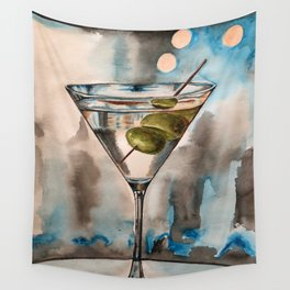 Martini Wall Tapestry