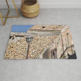 "Old Abandoned Barn of Sicily - ""Vacancy"" zine Rug"