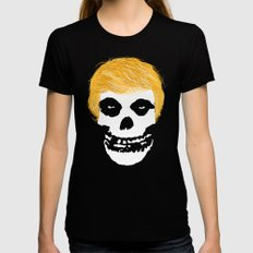 Trumpzig Black SMALL Womens Fitted Tee