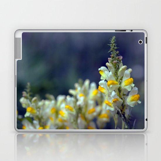 Toadflax flowers 5067 Laptop & iPad Skin