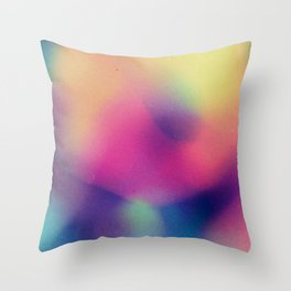 BLUR / supernatural Throw Pillow