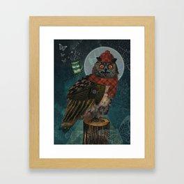 Bubo Bubo Framed Art Print