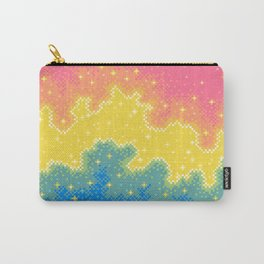 Pan Pride Flag Galaxy Carry-All Pouch