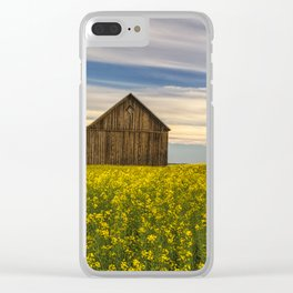 Dazzling Canola in Bloom Clear iPhone Case