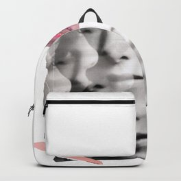 collage portrait Backpack
