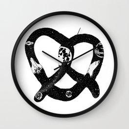 Space Pretzel Wall Clock