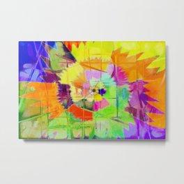 Flower explosion Metal Print