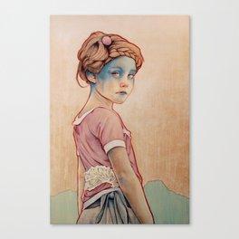 Within White Canvas Print