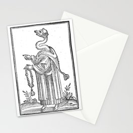 Hermetica Moderna - The Weasel Monk Stationery Cards