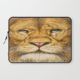 Regal Lion Drawing Laptop Sleeve