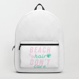 Funny Summer Sun Beach Holiday Vacation Drink Gift Backpack