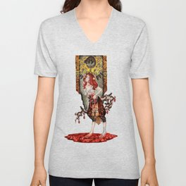 Queen of Mice Unisex V-Neck