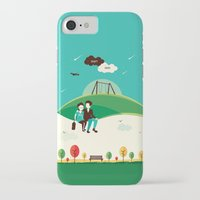 fault in our stars iPhone & iPod Cases featuring The Fault In Our Stars by Risa Rodil