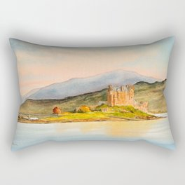 Eilean Donan Castle Scotland Rectangular Pillow