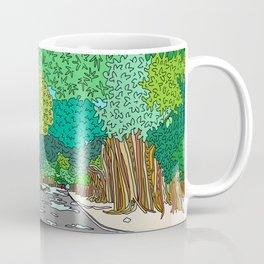 Banyan Tree Driveway Coffee Mug