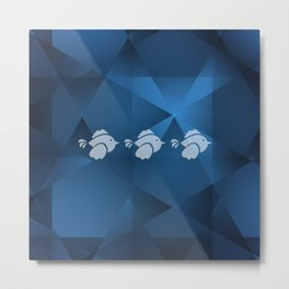 Birds in Formation Metal Print