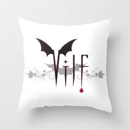 V.I.L.F. Throw Pillow